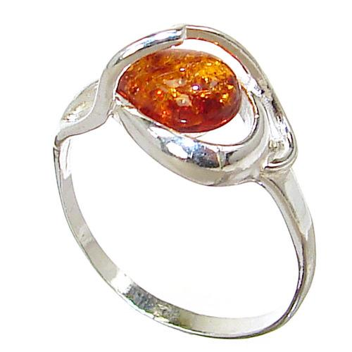 baltic sterling silver gemstone ring size p 1