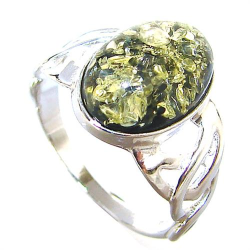 honey sterling silver gemstone ring size l 1 2 127