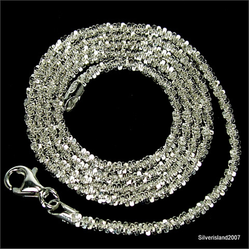 curb sliver sterling chain silver wholesale italian itm o pure chains necklace us link cuban