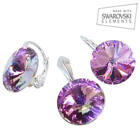 Swarovski Vitrail Light Sterling Silver Set
