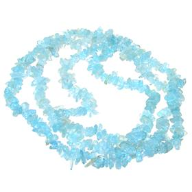 Marvelous Aquamarine Necklace 34 inches long