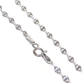 Beautiful Sterling Silver Chain 19 inches long