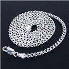 Bismark Sterling Silver Chain 18 inches long