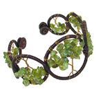 Large Peridot Fashion Bracelet