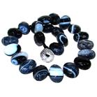 Chunky Botswana Agate Fashion Necklace 15 inches long