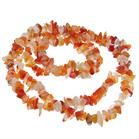 Fancy Agate Fashion Necklace 34 inches long