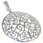 Fancy Sterling Silver Pendant