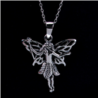 Glamour Fairy Sterling Silver Pendant Jewellery
