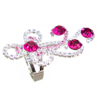 Glamorous Ruby Quartz Fashion Ring size P 1/2