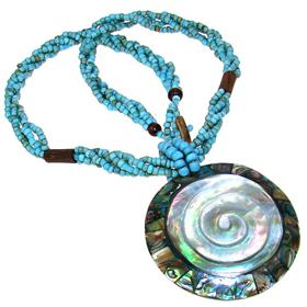 Splendid Shell Necklace 16 inches long