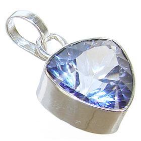 Mystic Topaz Sterling Silver Pendant