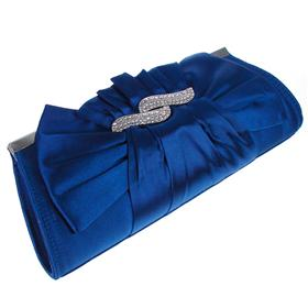 Medium Sized Hard Case Diamente Bag with Long Chain