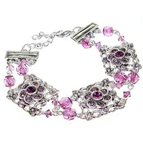 Purple Quartz Fashion Jewellery Bracelet