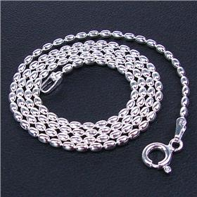 Stunning Bella Sterling Silver Chain 16 inches long