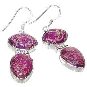 Sea Sediment Sterling Silver Earrings