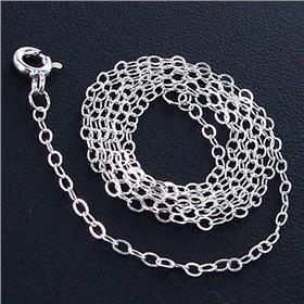 Trace Sterling Silver Chain 18 inches long