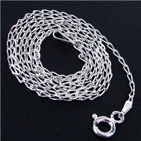 Elegant Sterling Silver Chain 18 inches long