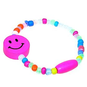 Multi-Colour Smily Face Children Fashion Bracelet