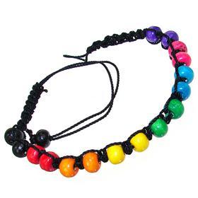Rainbow Italian Beads Fashion Bracelet