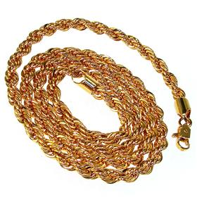 Chunky Gold Plated Chain 24 inches long