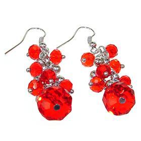 Incredible Cherry Quartz Fashion Earrings