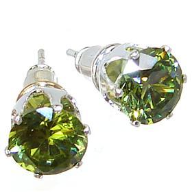 Olive Quartz Fashion Earrings