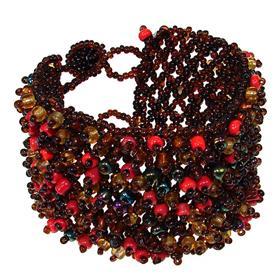 Large Amazing Mixed Bead Fashion Bracelet