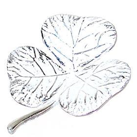 Fancy Clover Sterling Silver Pendant