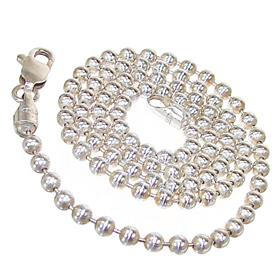 Fantastic Ball Sterling Sterling Silver Chain 16 inches long