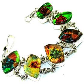 Dichroic Glass  925 Silver Bracelet Jewellery