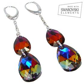 Swarovski Mystic Medium Sterling Silver Earrings