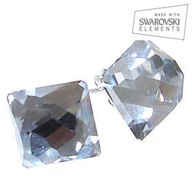 Swarovski Crystal Sterling Silver Earrings
