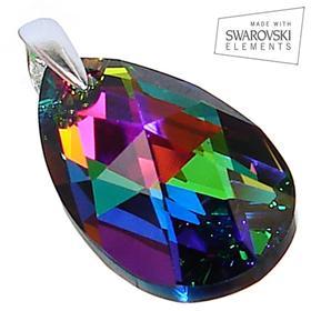 Swarovski Mystic Sterling Silver Pendant
