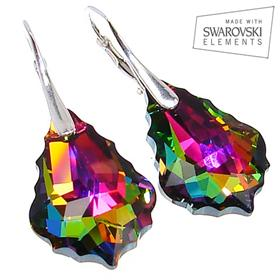 Swarovski Mystic Sterling Silver Earrings
