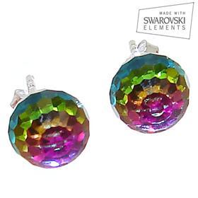 Swarovski Rainbow Sterling Silver Earrings