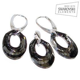 Swarovski Silver Night Sterling Silver Set