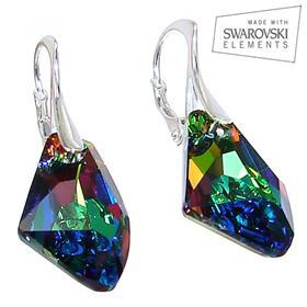 Swarovski Mystic Sterling Silver Earrings