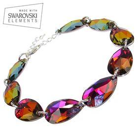 Swarovski Mystic Sterling Silver Bracelet