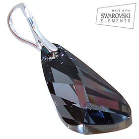 Swarovski Silver Night Sterling Silver Pendant