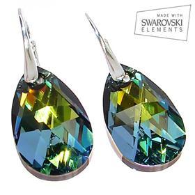 Swarovski Sahara Sterling Silver Earrings