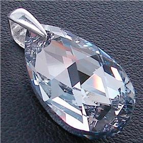 Swarovski Clear Sterling Silver Pendant
