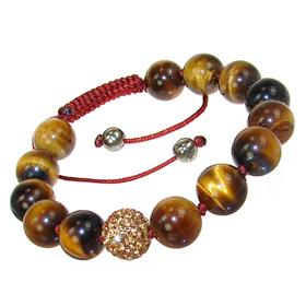 Chunky Tiger Eye Fashion Bracelet