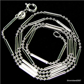 Gorgeous Diamond Cut 925 Sterling Silver Chain 18 inches long
