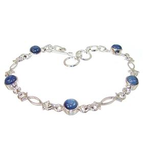 Rare Kyanite Sterling Silver Bracelet Jewellery