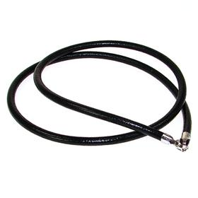 Black Leather Necklace Cord with Sterling Silver Lock 20 inches long