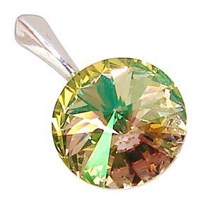Swarovski Luminous Green Sterling Silver Pendant