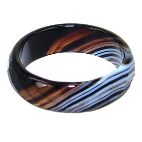 Agate Fashion Ring size O
