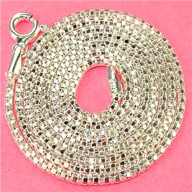"Coreana Sterling Silver Chain 18"" Jewellery"
