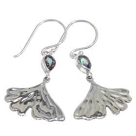 Mystic Quartz Sterling Silver Earrings