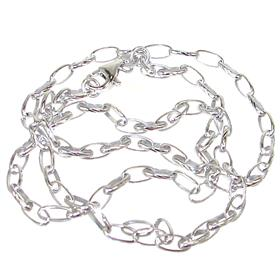 Sterling Silver Anchor Chain 17 inches long